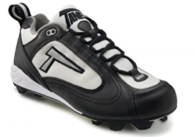 Buy Tanel 360-degree RPM Lite. Low-Cut Turf Shoes. Mens Turf Cleats. Black White Silver.... by Tanel 360