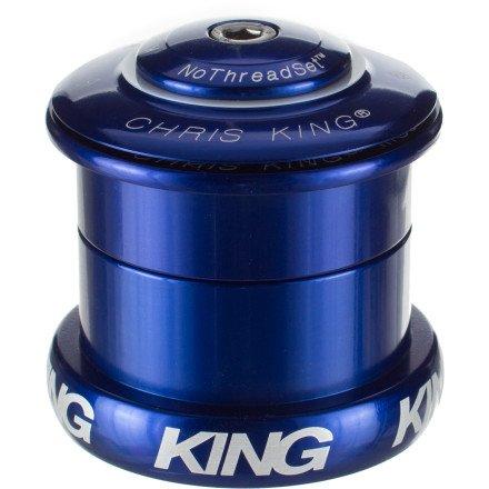 """Chris King Inset 5 Headset 49Mm 1-1/8-1.5"""" Tapered Steer Tube Navy"""