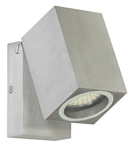 Ranex-5000488-LED-Wand-Auenleuchte-Aluminium-Glas-GU10-4-Watt-grau-und-quadratisch