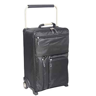 "19"" Black Worlds Lightest 2nd Generation Sub 0 G Suitcase from Domo and Bags ETC"