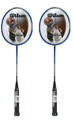 2 x Wilson Micro Carbon 900 Badminton Rackets RRP £120