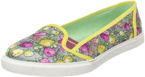 Poetic Licence Women's Fruit Punch Slip-On Fashion Sneaker,Grey,6.5 M US