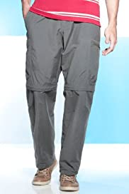 Utility Cotton Rich Active Waistband Straight Fit Trekking Trousers [T17-5025B-S]