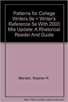 Patterns For College Writing 12th Edition