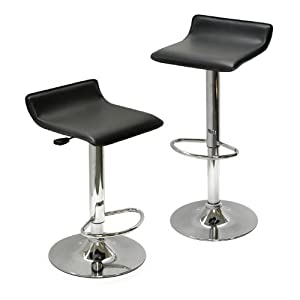 Enjoyable Sale Y Winsome Wood Air Lift Adjustable Stools Set Of 2 Gmtry Best Dining Table And Chair Ideas Images Gmtryco