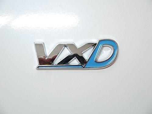 Hellblau chrom & VXD HECKKLAPPE Abzeichen Emblem Vauxhall/Opel Corsa/Astra VXR HECK Kofferraum