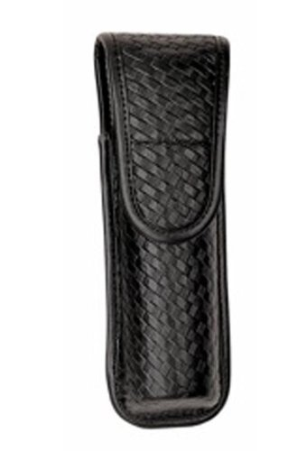 Bianchi Accumold Elite Hidden Snap 7911 Covered Compact Light Pouch (Basketweave Black, Size 3)