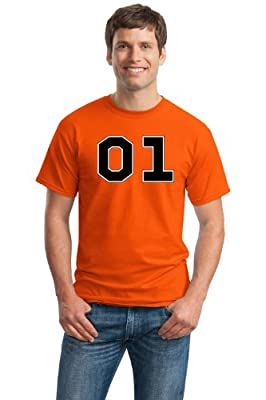 Orange Southern 01 Racing Unisex T-shirt / 80s Style General Nascar Racing Tee Shirt
