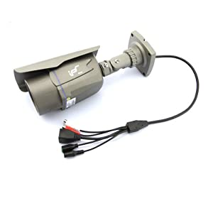 H.264 2 Megapixel Security Outdoor CMOS IP Camera With IR Motion Detection