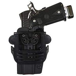 Comp-Tac International OWB Modular Mount Sig P320, RX, 250 Compact RSC Holster (Color: Black, Tamaño: SIG - P320/RX/250 Compact 9mm/40/357)