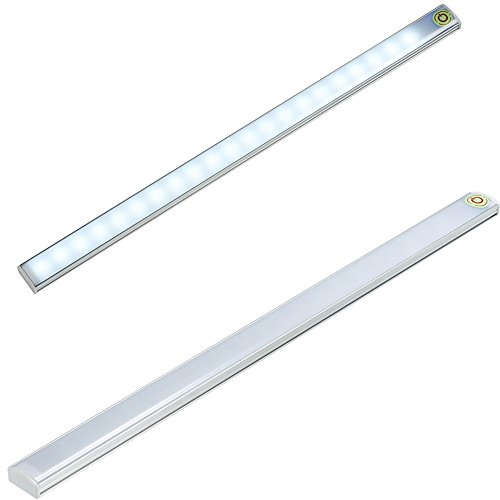 WEEFUN 2 Pack Touch LED Light, Touch Control Dimmable LED USB Powered 21 LED Light - Camping Emergency Light - Wall Closet Light - Tap Light Night Light for Under Cabinet Kitchen Bathroom (5v Led Light Strip compare prices)