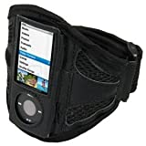 SouthCoast- Sports Arm Band for iPod Nano 4th Generation - Chromatic - - Black