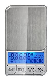 Weigh Masters Precision+ ProDigital Pocket Scale 200g x 0.01g (Silver)