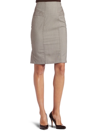 XOXO Juniors Birdseye Pencil Skirt