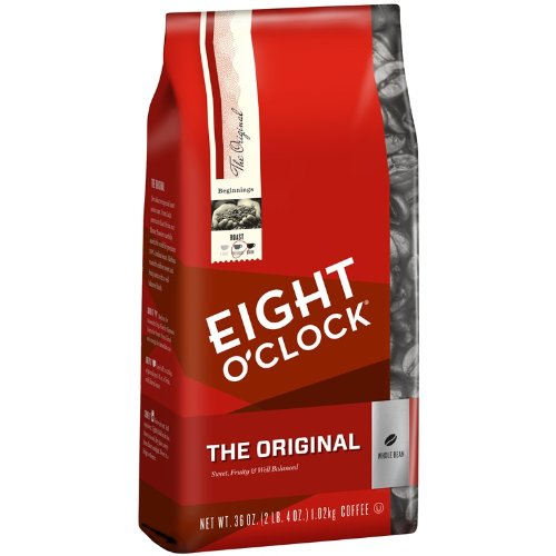 Eight O'Clock The Original Whole Bean Coffee,