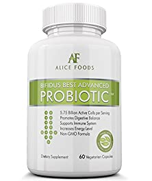 buy Fast Natural Bloating Relief - Bifidus Best Advanced Probiotic 60 Day + Kombucha How To Make Guide - Premium Probiotics Supplement For Men And Women - Lactobacillus And Bifidobacterium - To Fight Intestinal Problems, Bloating, Diarrhea, Gas, Bladder, Uti,