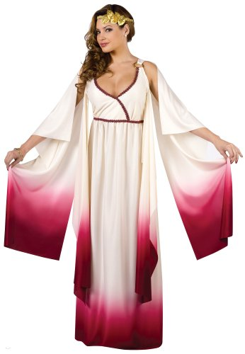 Burgundy Ombre Love Goddess Costume
