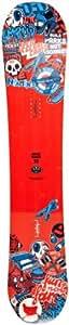 Amplid Men's Dopamine Snowboard - White/Red, Size 150