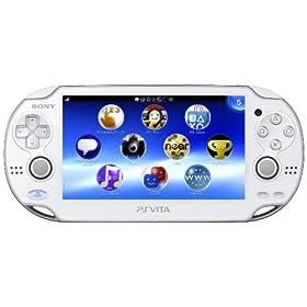 PlayStation Vita (�v���C�X�e�[�V���� ���B�[�^) Wi�]Fi���f�� �N���X�^���E�z���C�g (PCH-1000 ZA02)