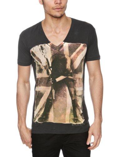 RELIGION LTD Smash It Printed Men's T-Shirt Black