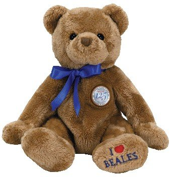 TY Beanie Baby - NIGEL the Bear (Beales UK Exclusive) - 1