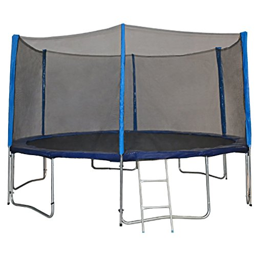 Zupapa 15 14 12 Ft Tuv Approved Trampoline With Enclosure