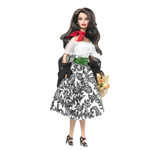 Barbie Dolls of The World Italy Barbie Doll