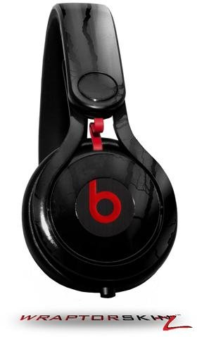 Lightning Black Decal Style Skin (Fits Genuine Beats Mixr Headphones - Headphones Not Included)