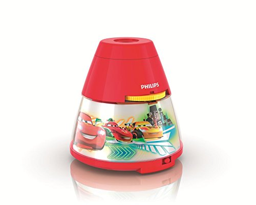 Philips 717693248 Disney Cars 2-in-1 Projector and Night Light, Red (Disney Cars Night Lamp compare prices)