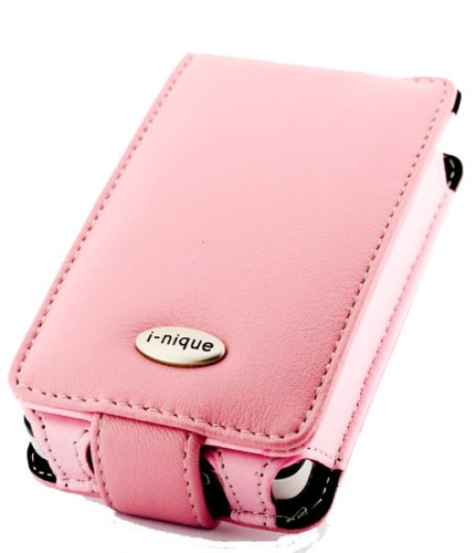 i-nique Tuff-Luv Exec soft Napa leather case for Apple Ipod Classic (80GB) - (Pink)