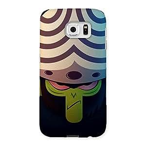 Cute Green Black Mojo Back Case Cover for Samsung Galaxy S6