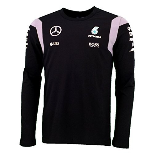 mercedes-amg-f1-replica-team-pilote-puma-manches-longues-t-shirt-officiel-2016