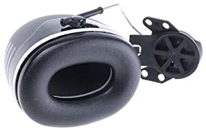 3M Peltor XSeries CapMount Earmuffs, NRR 31 dB, One Size Fits Most, Black X5P3E (Pack of 1) (Color: Black, Tamaño: 31 dB)