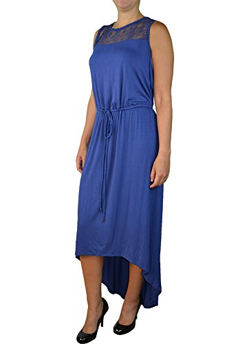 Alfa Global Women's Plus Size Sleeveless Summer Maxi Dress NavyBlue 2X