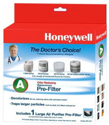 Honeywell Universal Carbon Air Purifier Replacement Pre-Filter, HRF-AP1 / Filter (A)