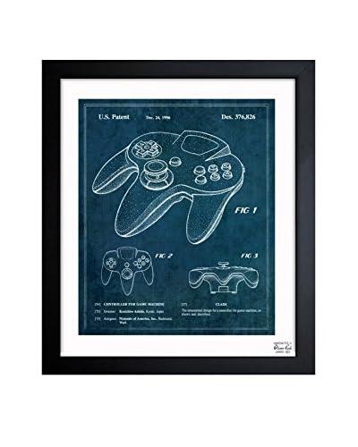 """Oliver Gal Artist Co. """"Controller For Game Machine 1996"""" Framed Art"""