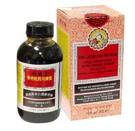 Honey and Loquat Syrup/Nin Jiom Pei Pa Koa Dragon Herbs 10 fz oz (300 ml) Liquid
