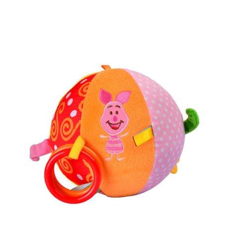 Lovely Kids Teething Gel Baby Infant Plush Soft Bed Stroller Bell Developmental Toy Ball front-1007319