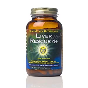 Healthforce Liver Rescue 4+, Vegancaps, 120-Count