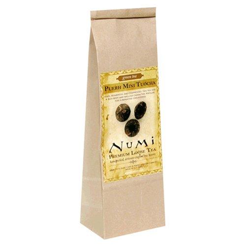 Buy Numi Tea Puerh Mini Tuocha, Flowering Black Tea, Loose Leaf, 8-Ounce Bags (Pack of 2) (Numi, Health & Personal Care, Products, Food & Snacks, Beverages, Tea, Black Teas)