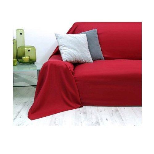 Colcha | Cubrecamas Vaganza | 140x210 cm | 100% algodón | Color: Rojo
