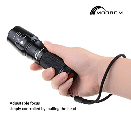 Youpin-Flashlight-2000-Lumens5-Modes-Zoomable-878-T6-Bulb-Torch-Lamp-LED-Adjustable-Focus-1865026650AAA-batteries