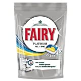 Fairy Platinum All In One Lemon Dishwasher Tablets (30 Pack)