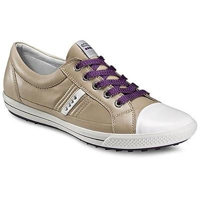 Ecco Women's Golf Street golf shoes - White/Beige 57213 (8)