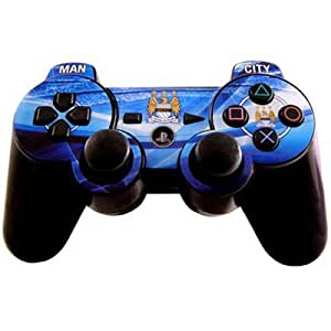 manchester city f c ps3 schutzfolie offizielles. Black Bedroom Furniture Sets. Home Design Ideas