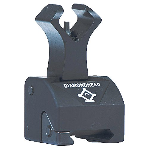 Diamondhead Gas Block Front Sight (for STAG Model 3 & AR15)- Folding Iron Sight - Lifetime Warranty (Stag Arms Model 3 compare prices)
