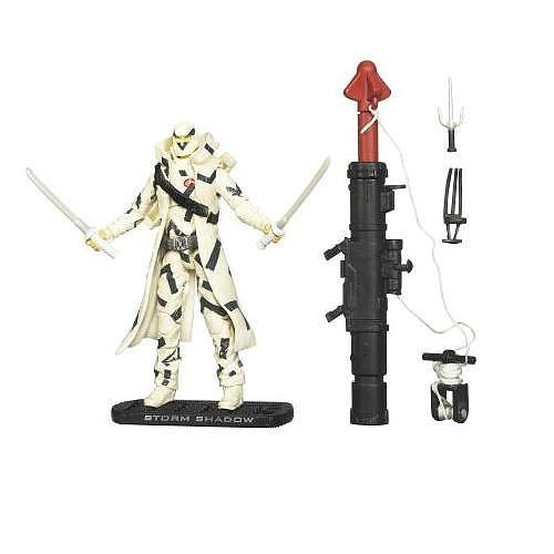 G.I. Joe Rise of Cobra Storm Shadow Arctic Threat Figure