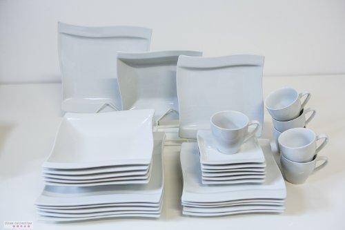 Service vaisselle design les bons plans de micromonde - Table 18 personnes ...