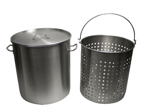Chard Asp30 Aluminum Pot With Basket For Outdoor Frying