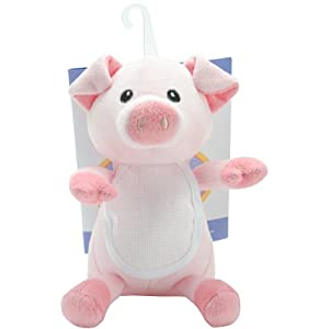 DMC GN-125 Ready-to-Stitch Stuffed Animal Baby Gift, Pig